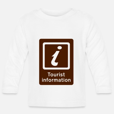 Tourist Toerisme,Tourist Information,Sight Seeing - Baby longsleeve