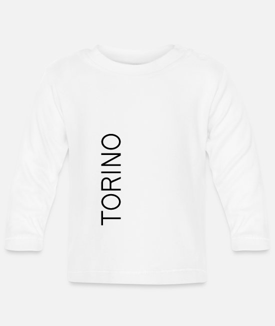 Travel Baby Long-Sleeved Shirts - Turin - Baby Longsleeve Shirt white