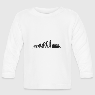 Rafting Evolution - Camiseta manga larga bebé
