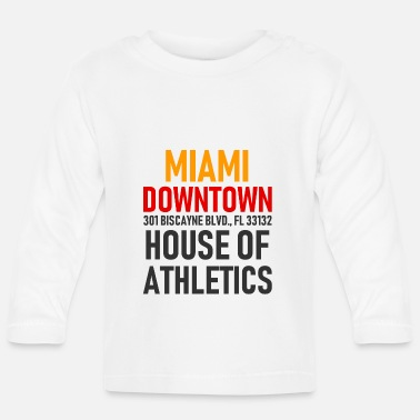 Spring Break Downtown Miami - House of Athletics - Florida - Maglietta a manica lunga per bambini