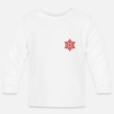 Flake Red flake - Baby Longsleeve Shirt