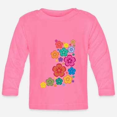 New Age New Age Flower Power - Baby Langarmshirt
