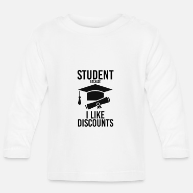 Student Student student discount gifts for students - Baby Longsleeve Shirt