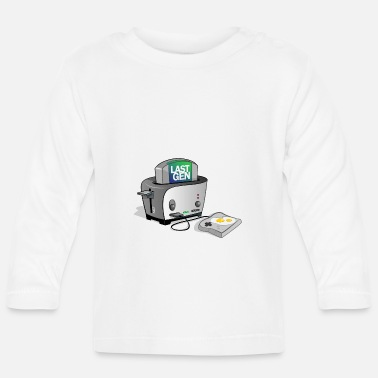Gaming Nerd Gaming Toaster - Video Games Nerd console - Baby Longsleeve Shirt