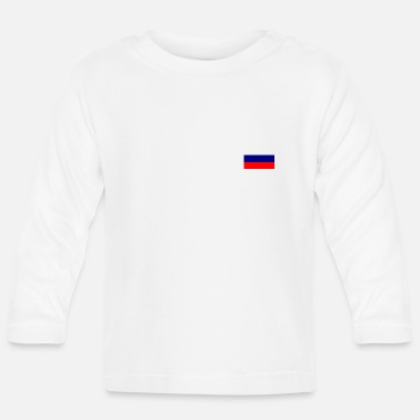 Russische Flagge - Baby Langarmshirt