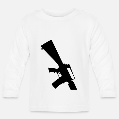 M-16 M-16 Assult Rifle - Baby longsleeve