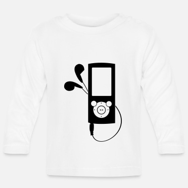 Mp3 MP3 Player - Baby Langarmshirt