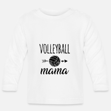Volley Volleyball Mama - Baby Langarmshirt