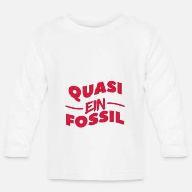 Fossil ein fossil - Baby Langarmshirt