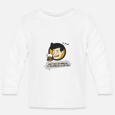 Borracho borracho - Camiseta de manga larga bebé
