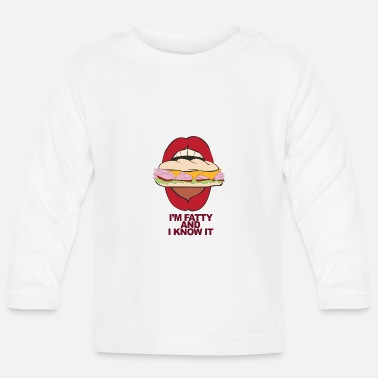 Hungry Hungry - Baby Longsleeve Shirt