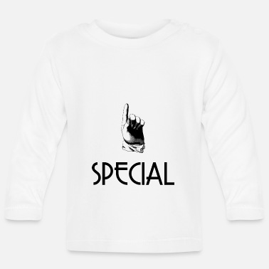 Specially Special for special person - Baby Longsleeve Shirt