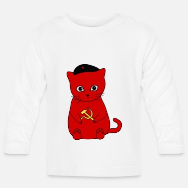 Communism Kittens for Communism! - Baby Longsleeve Shirt