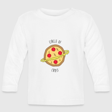 Pizza Circle of Crust - Baby Langarmshirt