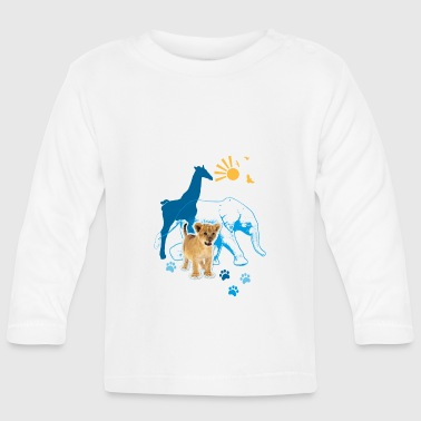 Animal Planet Animals Kid's T-Shirt - Baby Long Sleeve T-Shirt