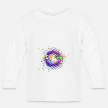 Jumpstyle Techno Sound Wave & Rave Festival Tshirt Fun - Baby Longsleeve Shirt