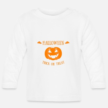 Trick Or Treat Trick or Treat - Halloween - T-shirt manches longues Bébé