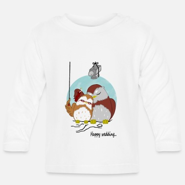 Wedding happy wedding - T-shirt manches longues Bébé
