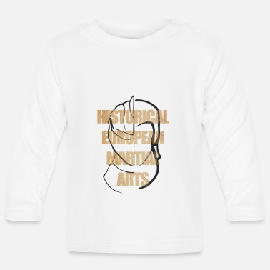 Parchment Ink Over Parchment Text - Baby Longsleeve Shirt