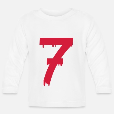 Lucky Number lucky number seven - Baby Longsleeve Shirt