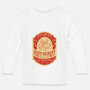 Dr. BB Wolf's Huff And Puff - Baby longsleeve