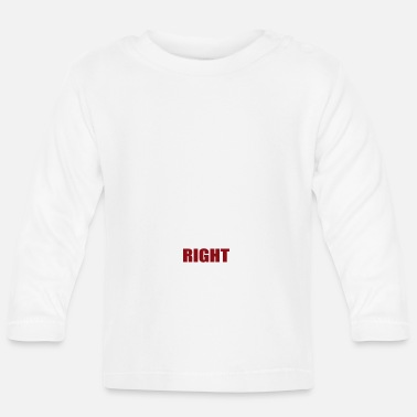 Migration Migration - Migration is a human right - Baby Longsleeve Shirt