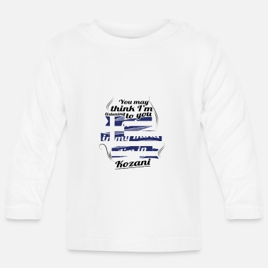 Greece GREECE GREECE TRAVEL IN IN Greece Kozani - Baby Longsleeve Shirt