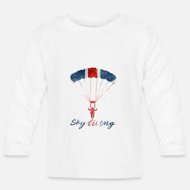 Uk Skydiving #UK - Baby Longsleeve Shirt