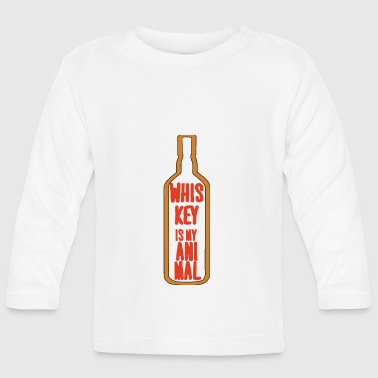 Whiskey - Whiskey is my Animal - Baby Long Sleeve T-Shirt
