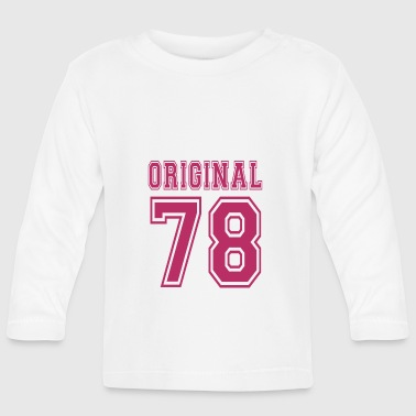 Original 1978 - Baby Long Sleeve T-Shirt