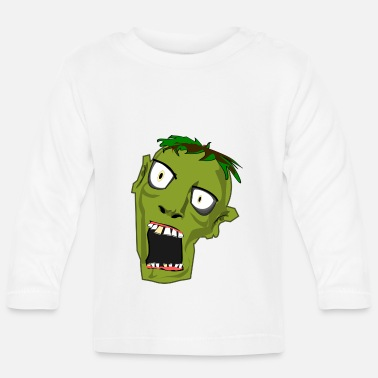 Angry ANGRY ZOMBIE - T-shirt manches longues Bébé
