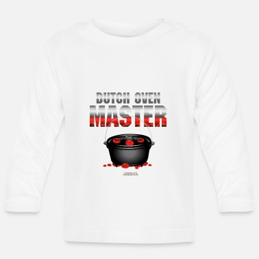 Braden Dutch Oven T Shirt Dutch Oven Master - Baby longsleeve