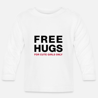 Pickup Line freehugsgirls - Baby Longsleeve Shirt
