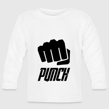 punch blak - Baby Long Sleeve T-Shirt