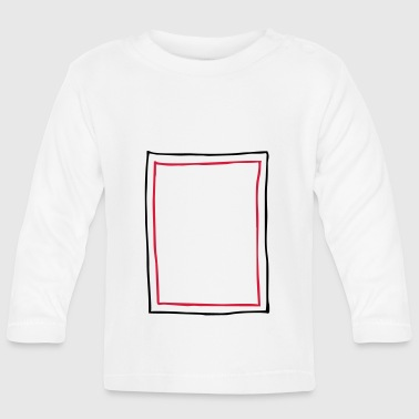 Frame picture frame - Baby Long Sleeve T-Shirt