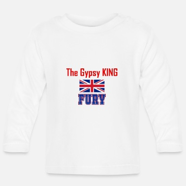 Gypsy Fury The Gypsy King Gift - Baby Long Sleeve T-Shirt