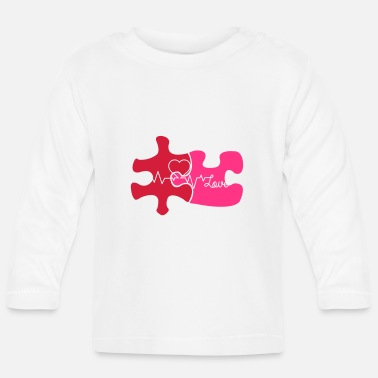 Puzzle puzzle_love02 - Baby Longsleeve Shirt