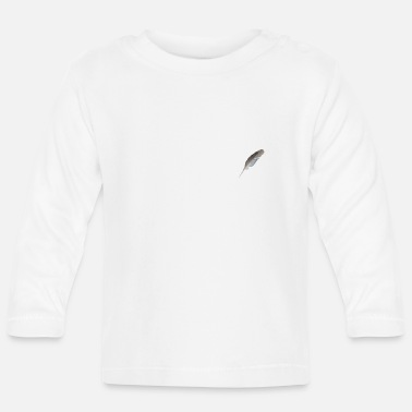 Feathered Animal feather - Baby Longsleeve Shirt