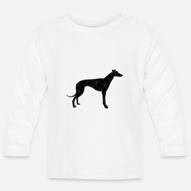 Levrier dog, pet, greyhound - Baby Longsleeve Shirt
