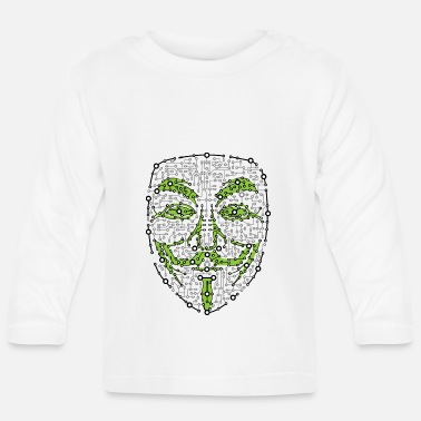 Anonymous Digital Anonymous Version 01 - Långärmad T-shirt baby