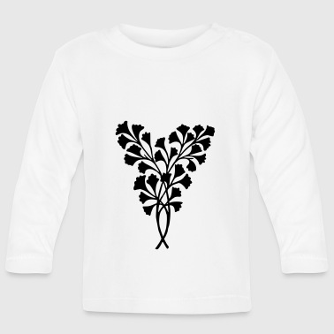 Leaves decoration - Baby Long Sleeve T-Shirt