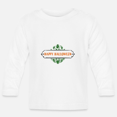 Mortvivant happy halloween - T-shirt manches longues Bébé