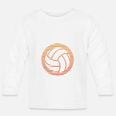 Volley volley-ball - T-shirt manches longues Bébé