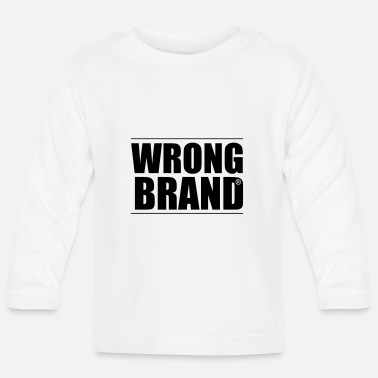 Brand Wrong Brand: the ultimate brand parody - Baby Longsleeve Shirt
