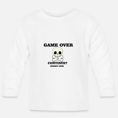 Game Over game over - Camiseta manga larga bebé