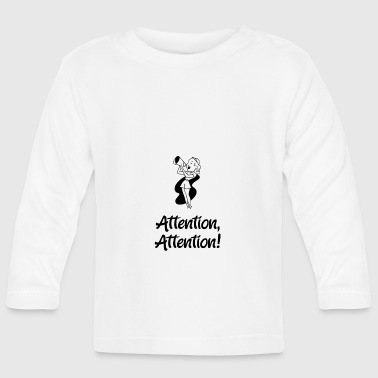Attention Attention - T-shirt manches longues Bébé