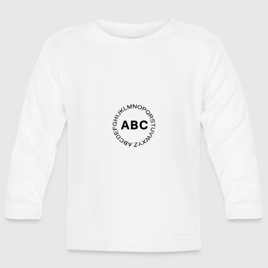 Abc Letters ABC alphabet - Baby Long Sleeve T-Shirt
