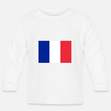 French Flag French flag - Baby Long Sleeve T-Shirt