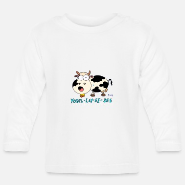 Yodelling Yodeling cow - Baby Longsleeve Shirt