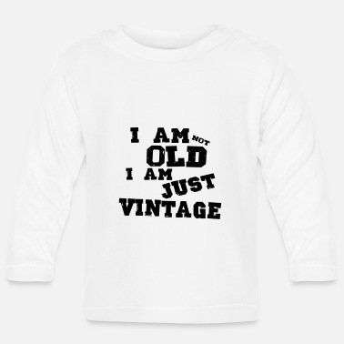 Bursdag i am just vintage - T-shirt manches longues Bébé